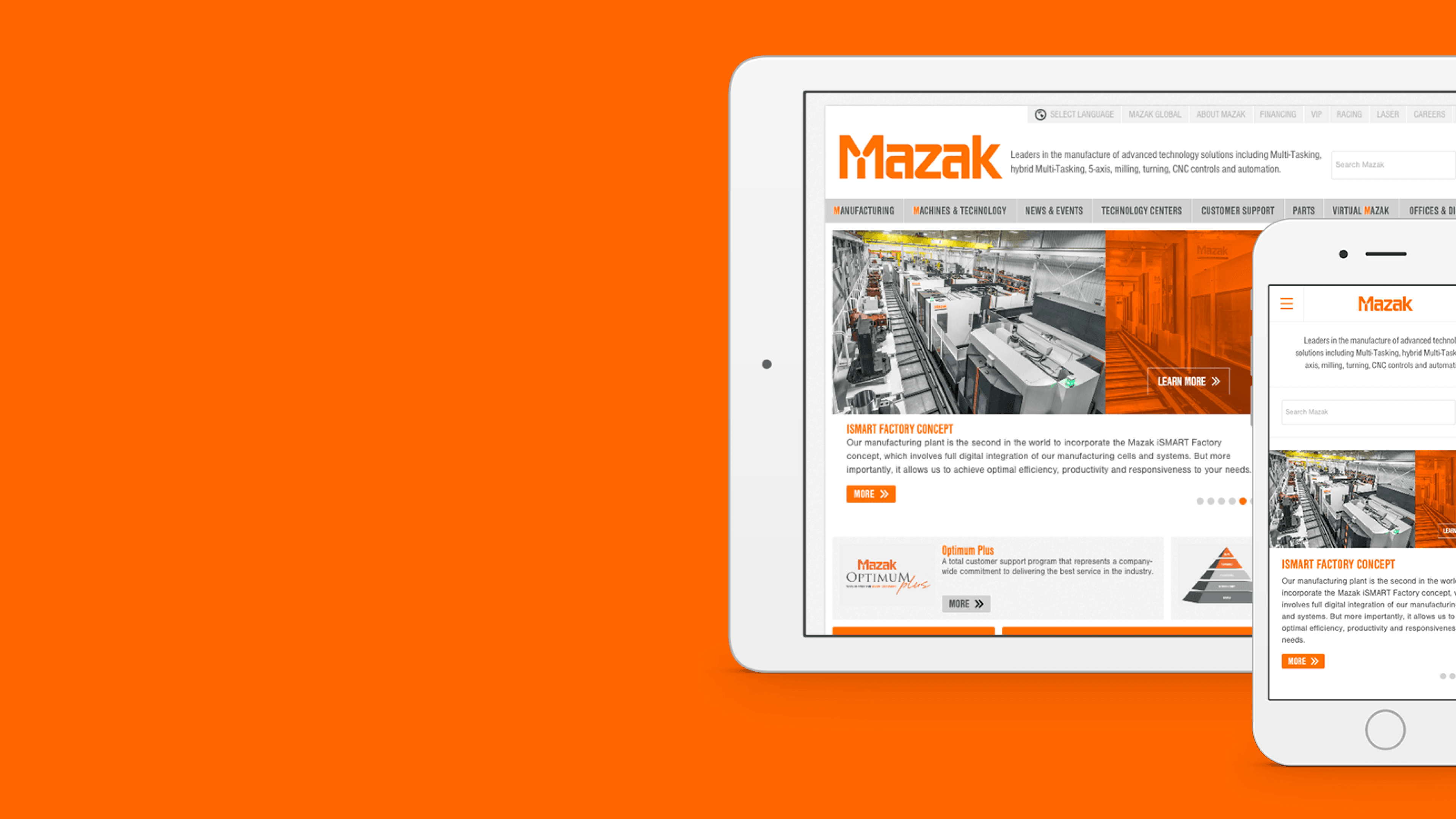 Mazak — Redesigning Mazak Corporation