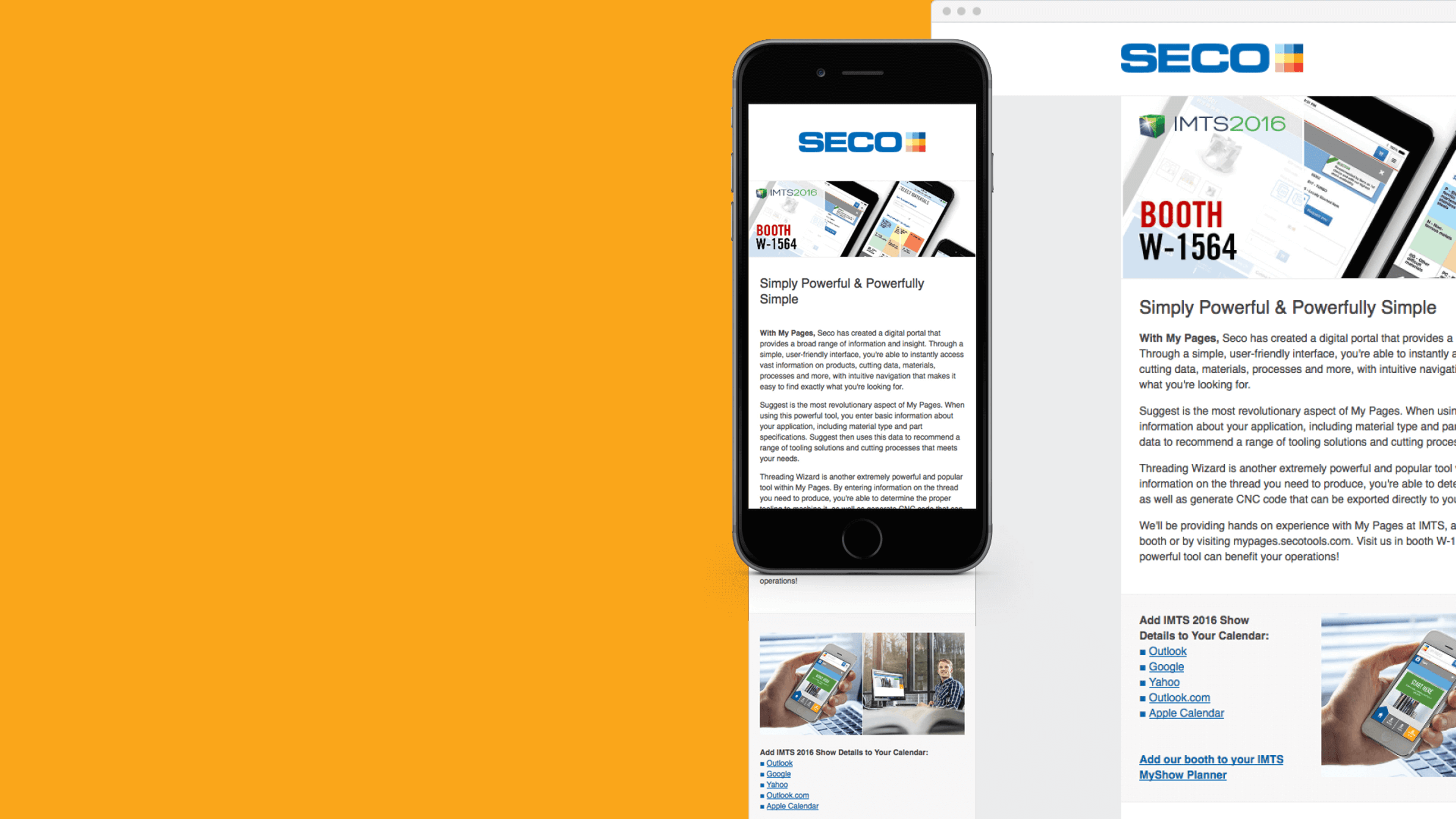 Seco Tools — Experience Seco Tools at IMTS 2016