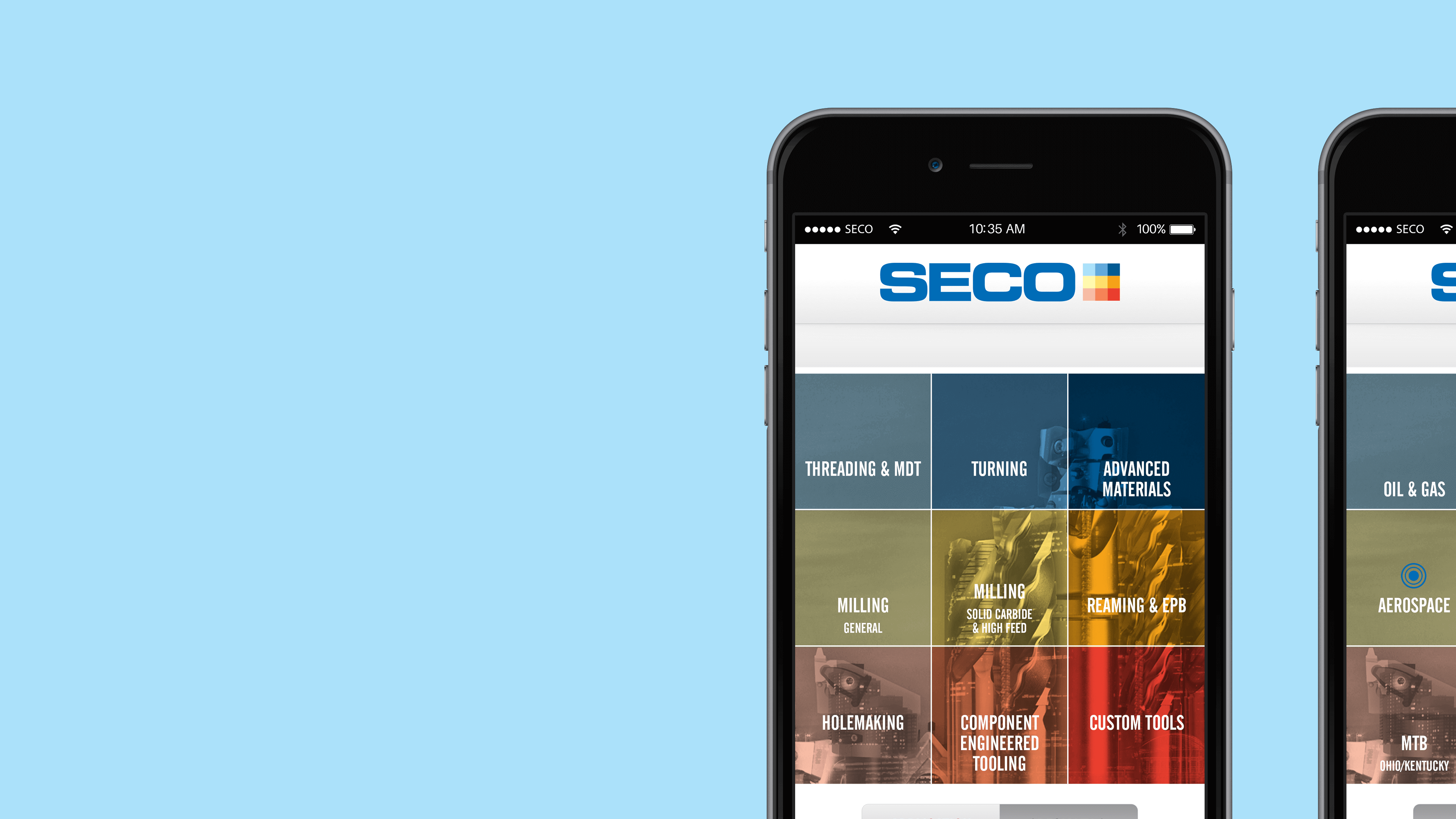 Seco Tools — Mobile Contacts