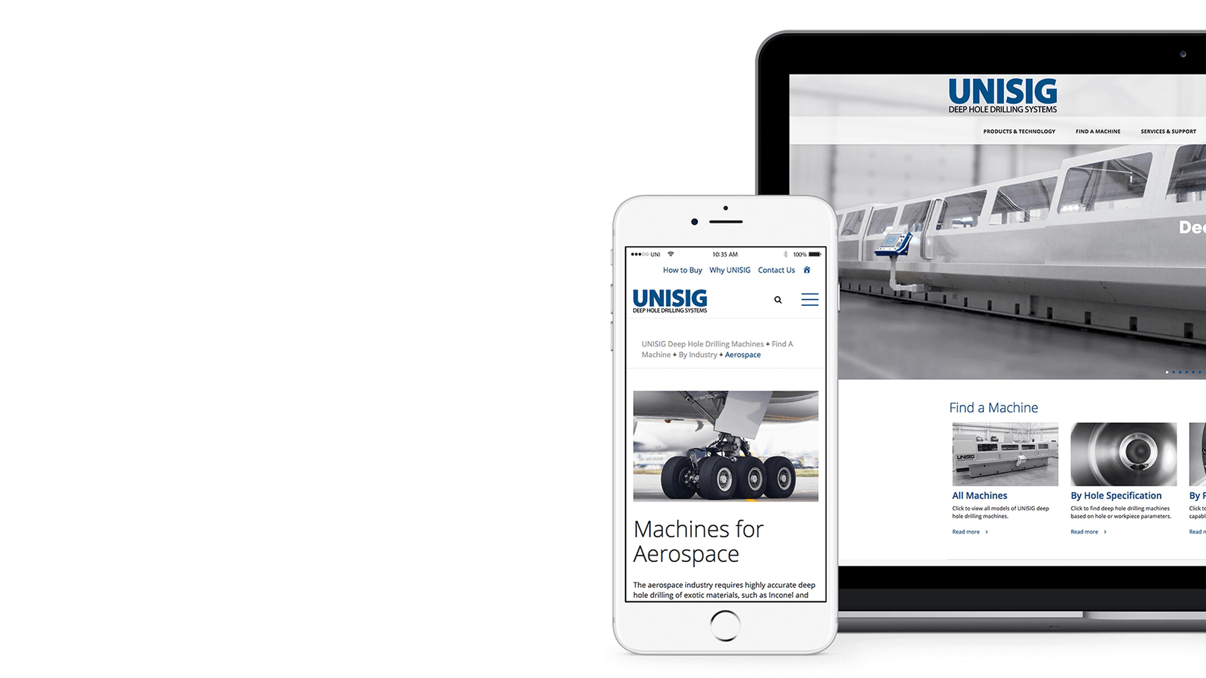 UNISIG — Creating a deeper experience for UNISIG.com